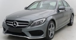Mercedes Classe C220 170 9G-DCT AMG-Line + GPS + Panoramique + FULL LED