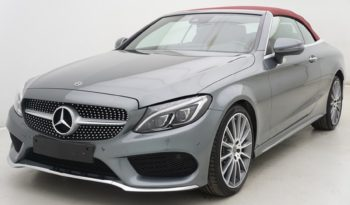 Mercedes C220 CDi 170 9G-DCT Cabriolet AMG Line + Comand + Cuir + LED Lights plein