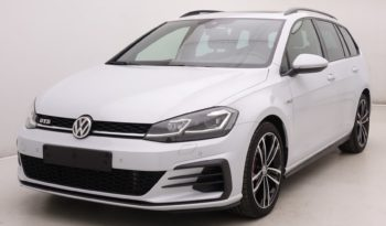 Volkswagen Golf 2.0 TDi 184 DSG GTD Variant + GPS + Virtual + Pano + LED Lights plein